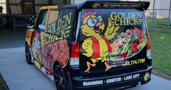 Golden Chick – Sumter Areas New fried & roasted chicken, catfish & Southern-style sides
